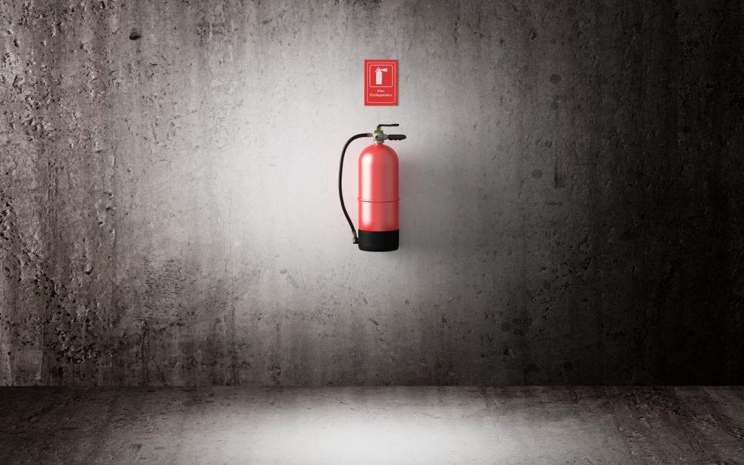 Fire extinguisher installation in Scotland Equipment